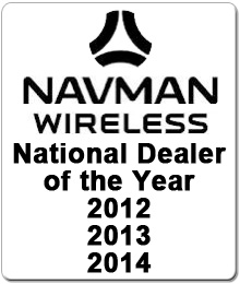 Nationwide Tracking Systems Navman Wireless Dealer of the Year 2011 2012 2013 2014